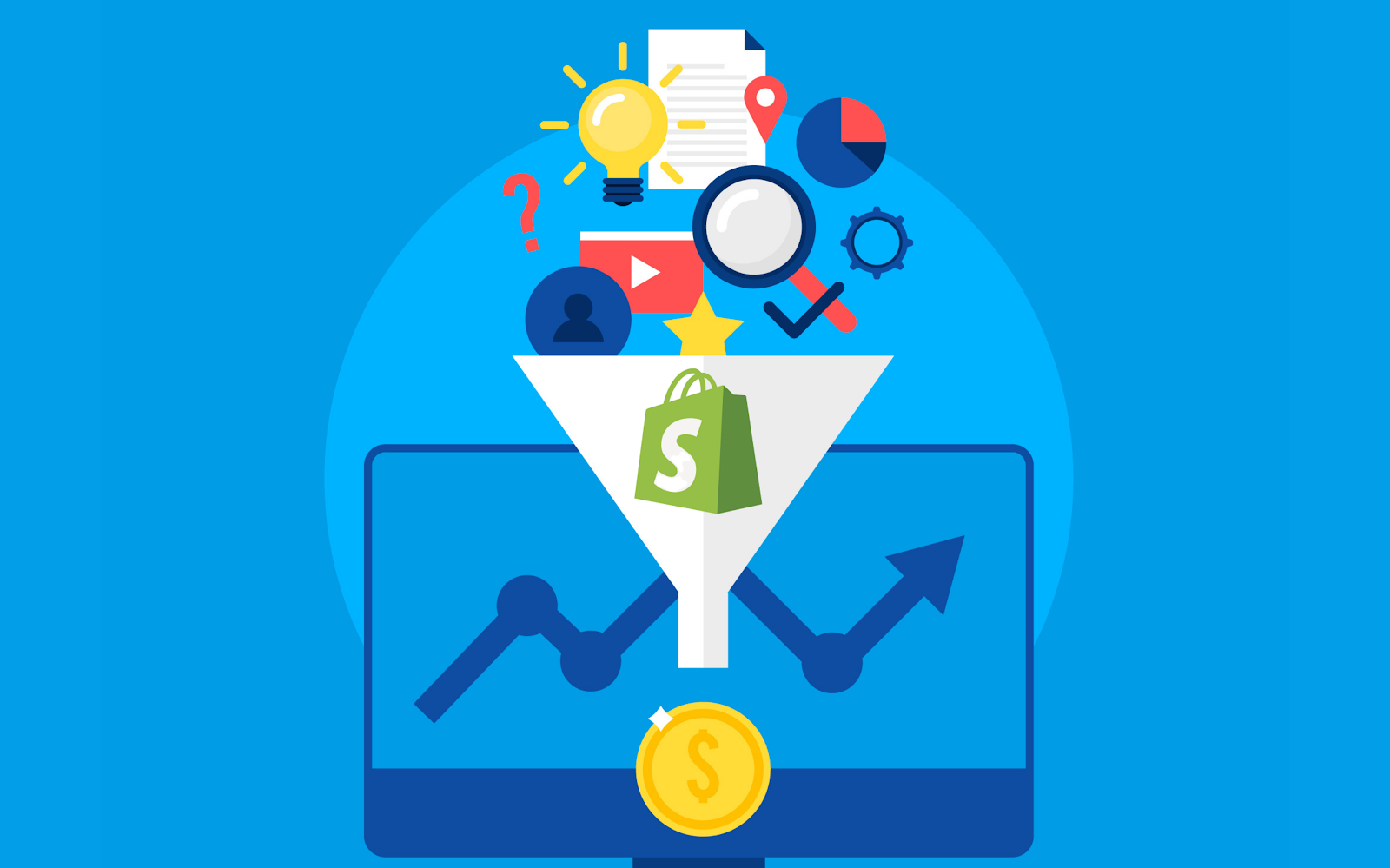 Shopify sales funnel, sales funnel vs Shopify, sales funnel Shopify app, How to create a sales funnel on Shopify?, How to create sales funnel on Shopify