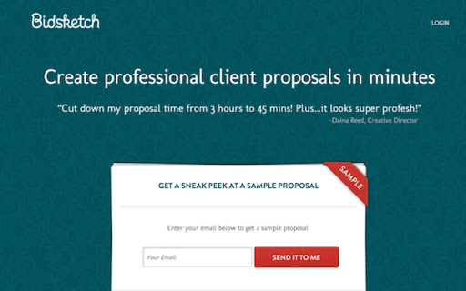 create professional clients proposals