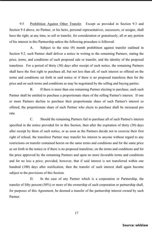 Limited Partnership Agreement-17