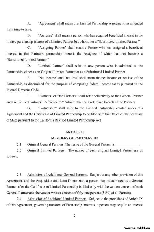 Limited Partnership Agreement-2