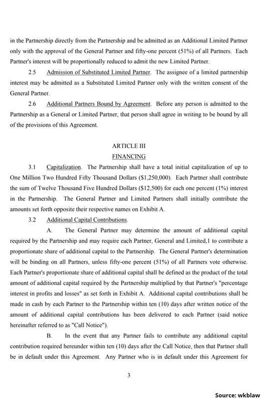Limited Partnership Agreement-3