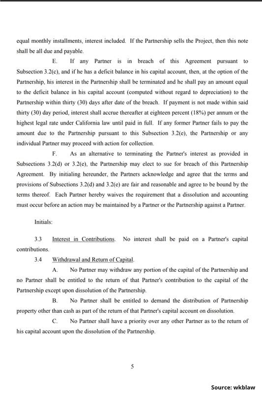 Limited Partnership Agreement-5