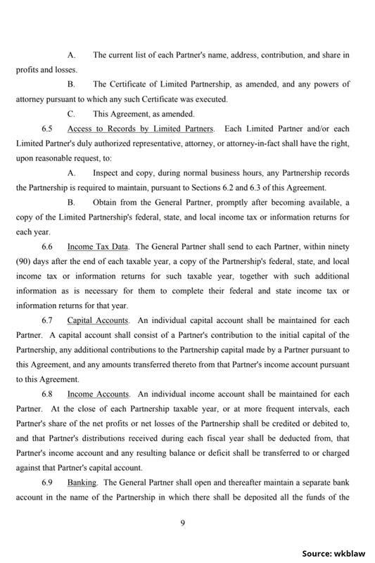 Limited Partnership Agreement-9