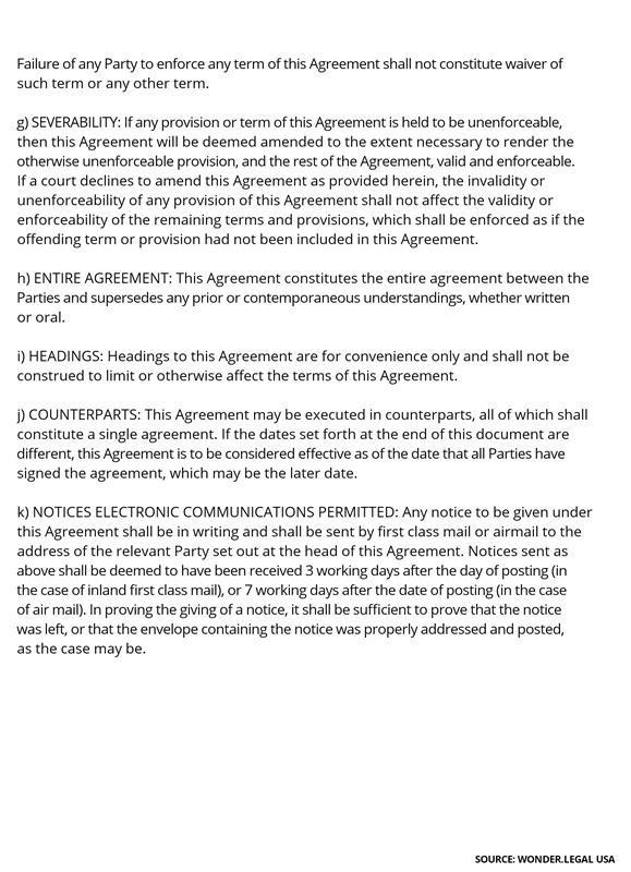 Shareholder Agreement Template-12