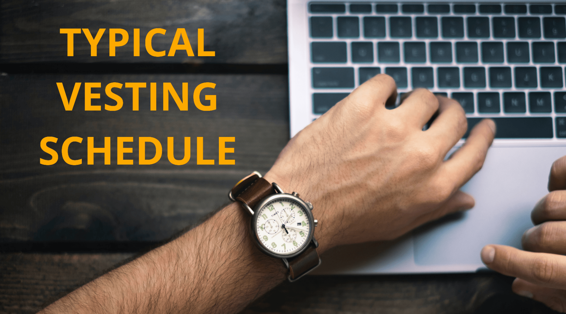 How Does a Typical Vesting Schedule Function and What Are Its Advantages